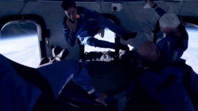 Photo of Jeff Bezos, surprins de tânărul de 18 ani în timpul călătoriei în spațiu. Motivul