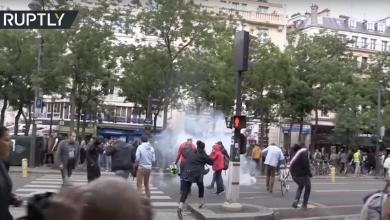 """Photo of """"Contra dictaturii"""": Proteste masive în Franţa faţă de măsurile lui Macron privind vaccinarea şi certificatul COVID-19"""