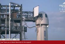 Photo of live | Începe călătoria lui Jeff Bezos în spațiu. Toți cei patru pasageri se află la bord