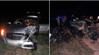 Photo of update, foto   Accidentul la Sîngerei în urma căruia au murit două persoane: În mașină se afla și un copil