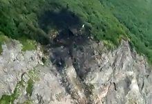 Photo of foto | Locul în care s-a prăbușit avionul din Rusia. Nouă cadavre au fost recuperate