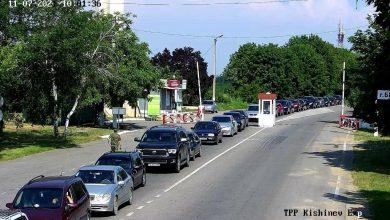 Photo of foto | Coadă de mașini la intrarea în Varnița