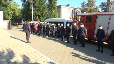 Photo of live   Cei 25 de pompierii moldoveni, petrecuți în misiunea din Grecia. Vor parcurge circa 1600 de kilometri cu autospecialele