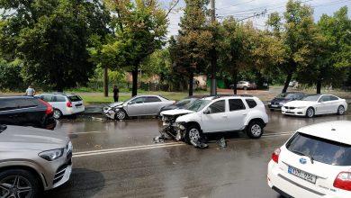 Photo of video, foto   Accident lângă Circ: Patru mașini ar fi avariate. Circulație îngreunată în zonă
