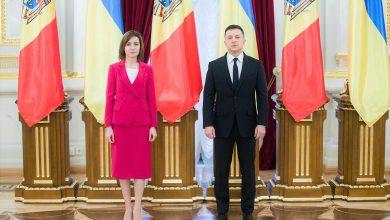 """Photo of Sandu, decorată de Zelenski cu cu Ordinul de gradul I al """"Cneazului Iaroslav cel Înțelept"""""""