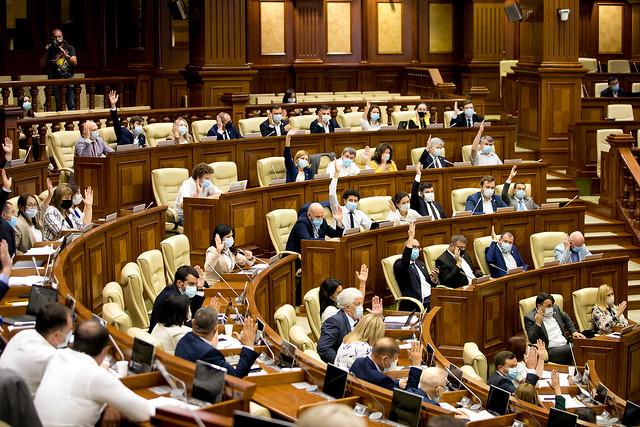 Parlament vot