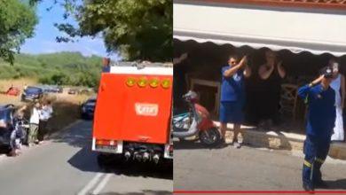 Photo of video | Au fost petrecuți cu aplauze și onoruri, dar sunt așteptați cu dor. Pompierii moldoveni care au avut misiune în Grecia ajung marți acasă