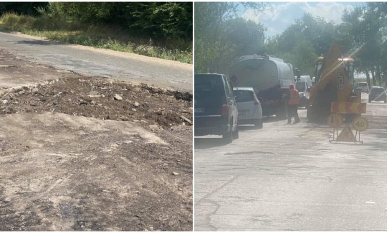 Photo of foto   A început reparația drumului spre Băcioi dinspre Aeroport