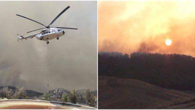 Photo of video | Elicoptere din R. Moldova, surprinse cum luptă cu incendiile din Turcia