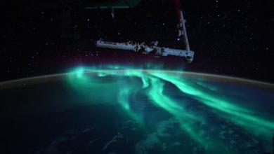 Photo of Imagini spectaculoase cu Aurora australă: Fotografii făcute de un astronaut de pe Stația Spațială Internațională