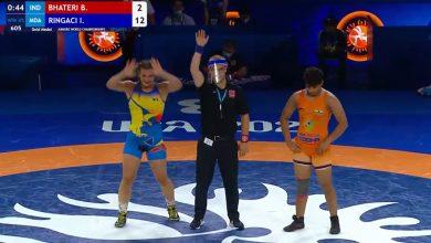 Photo of Luptătoarea Irina Rîngaci a devenit campioană mondială printre tineret