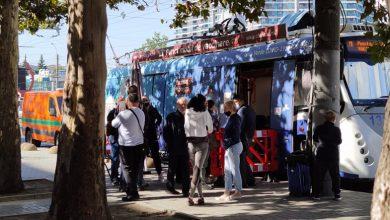 """Photo of Stimați pasageri, urmează stația """"vaccinare""""! Amplasarea de vineri a celor două puncte mobile de imunizare"""