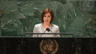 """Photo of video   Sandu la tribuna ONU: """"Democrația R. Moldova este amenințată de mai mulți factori"""""""