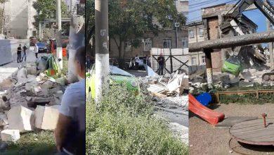 Photo of Reacția Primăriei capitalei după ce peretele unei clădiri ar fi căzut peste o mașină în timpul demolării
