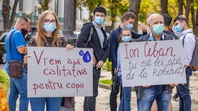 Photo of foto | PAS a protestat la Primărie. Ceban a comentat direct la postarea formațiunii: Să iasă din campania electorală
