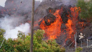 Photo of Erupția vulcanică din La Palma se intensifică, pompierii s-au retras. Zboruri anulate pentru prima dată