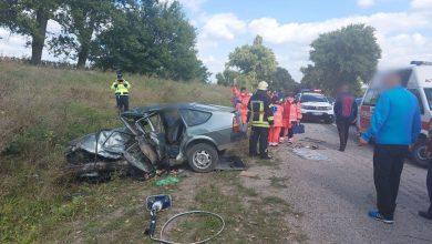 Photo of foto | Accident fatal în nordul Republicii Moldova: O Dacia ieșită pe contrasens s-a tamponat cu un Volkswagen
