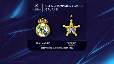 Photo of Al doilea meci pentru Sheriff în grupele Ligii Campionilor: Tiraspolenii joacă marți seară împotriva lui Real Madrid