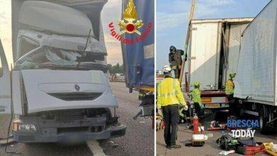 Photo of Italia: Șofer moldovean, strivit mortal într-un camion, după ce s-a izbit de un alt TIR