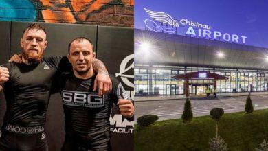 Photo of Moldoveanul cu acte irlandeze, care s-a dat în spectacol la Aeroport, ar fi antrenorul lui Conor McGregor