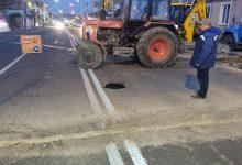 Photo of foto   O porțiune din strada Ismail risca să se prăbușească din cauza rețelelor subterane defecte